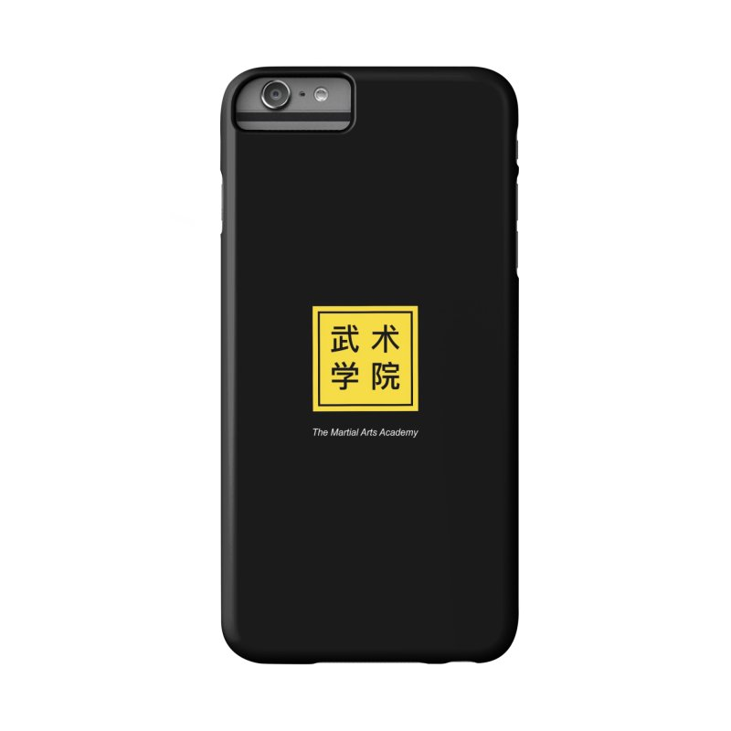 Logo Square White Type Accessories Phone Case by The Martial Arts Academy's Store