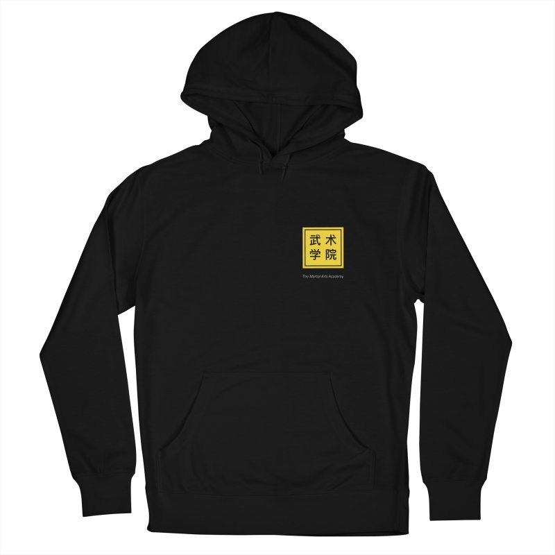 Logo Square White Type Women's French Terry Pullover Hoody by The Martial Arts Academy's Store