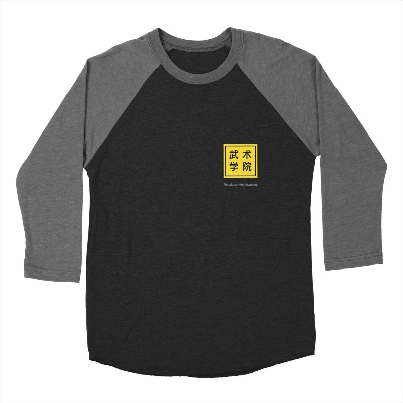 Logo Square White Type Women's Baseball Triblend Longsleeve T-Shirt by The Martial Arts Academy's Store