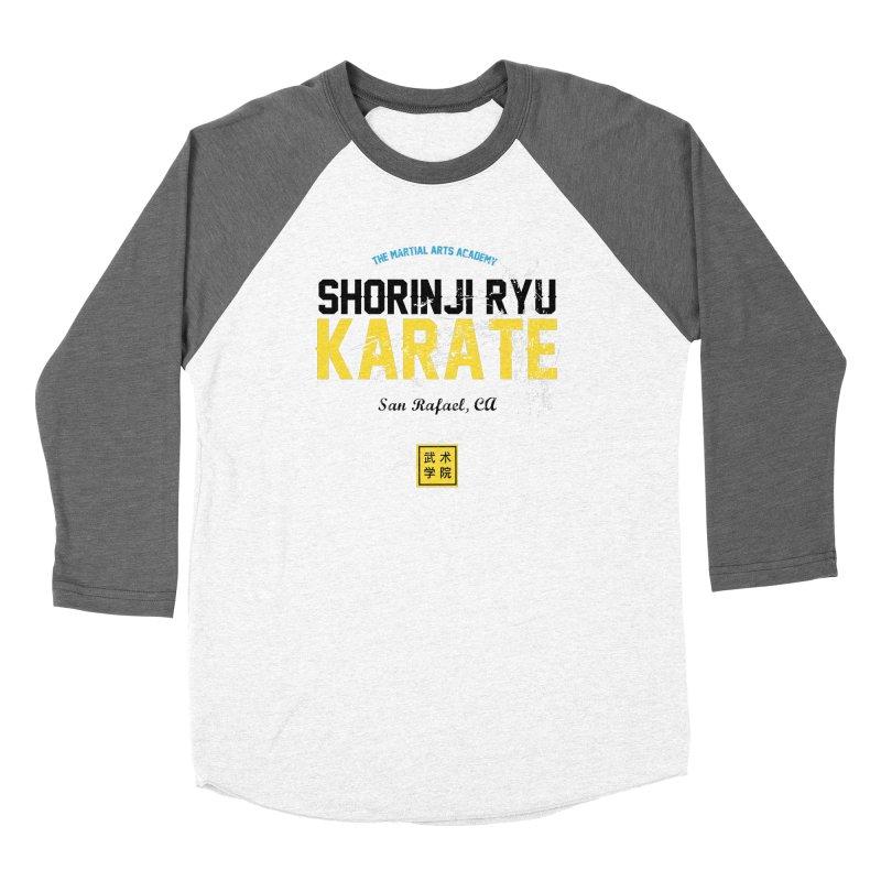 Karate Women's Baseball Triblend Longsleeve T-Shirt by The Martial Arts Academy's Store