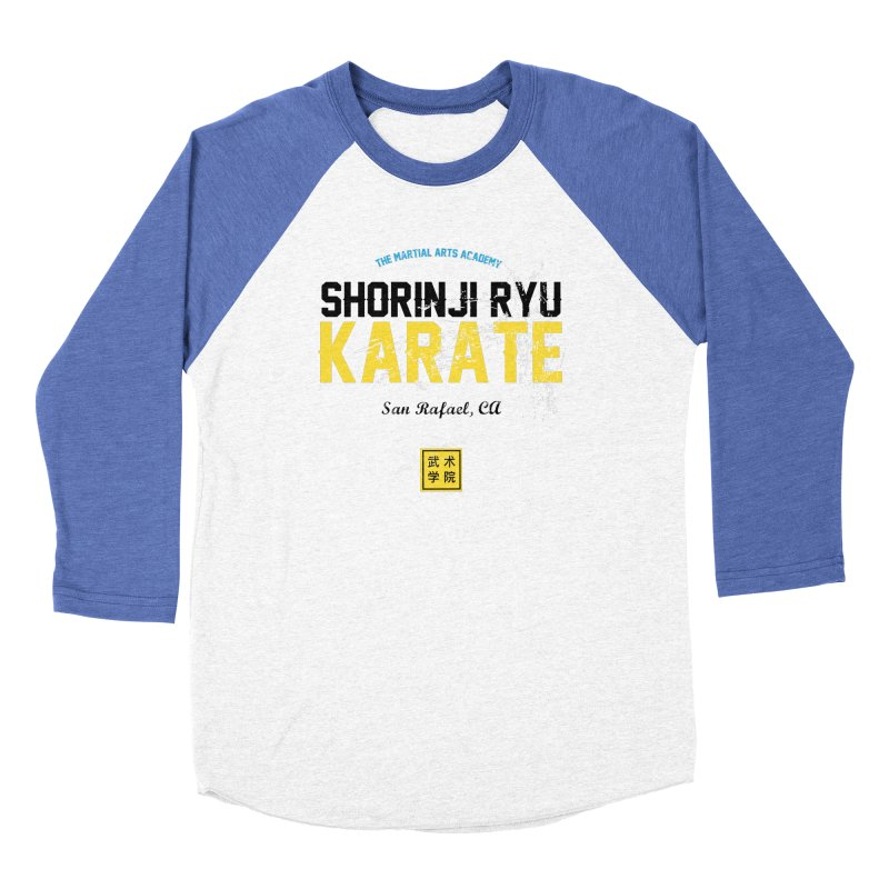 Karate Men's Baseball Triblend Longsleeve T-Shirt by The Martial Arts Academy's Store