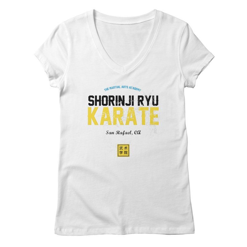 Karate Women's V-Neck by The Martial Arts Academy's Store