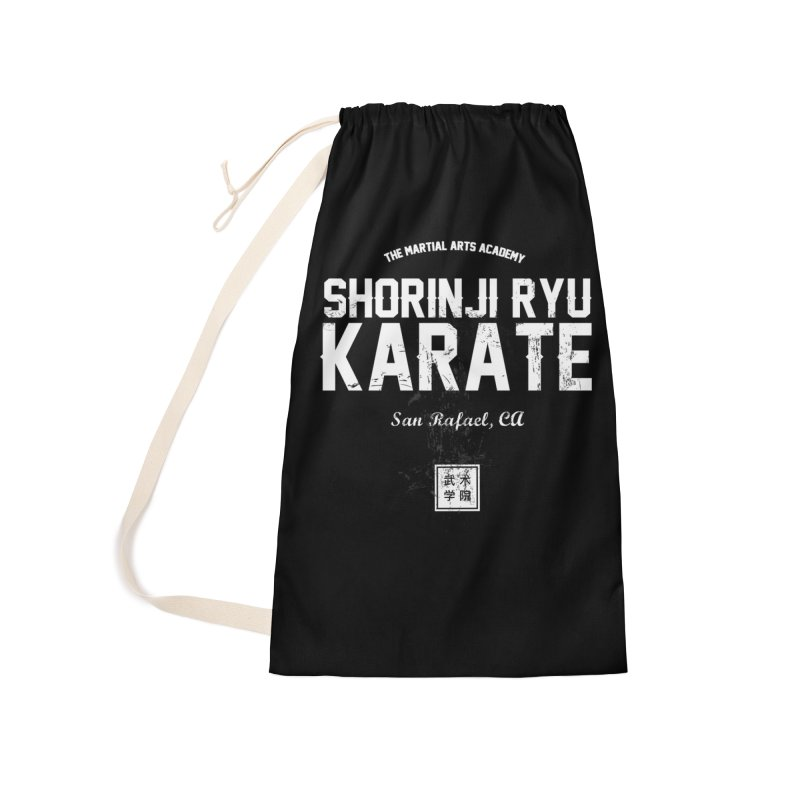 Karate (Black) Accessories Laundry Bag Bag by The Martial Arts Academy's Store