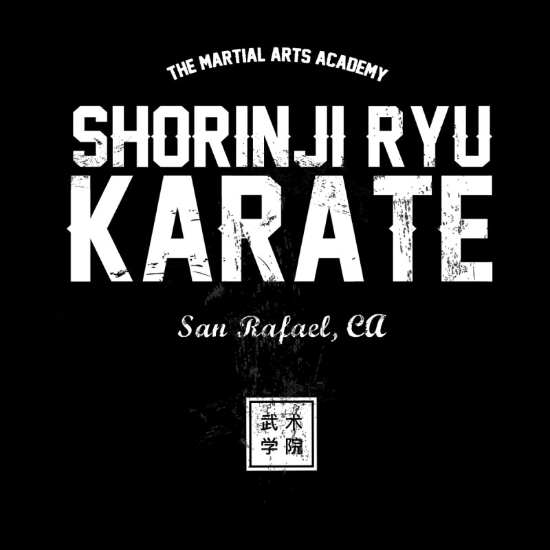 Karate (Black) by The Martial Arts Academy's Store