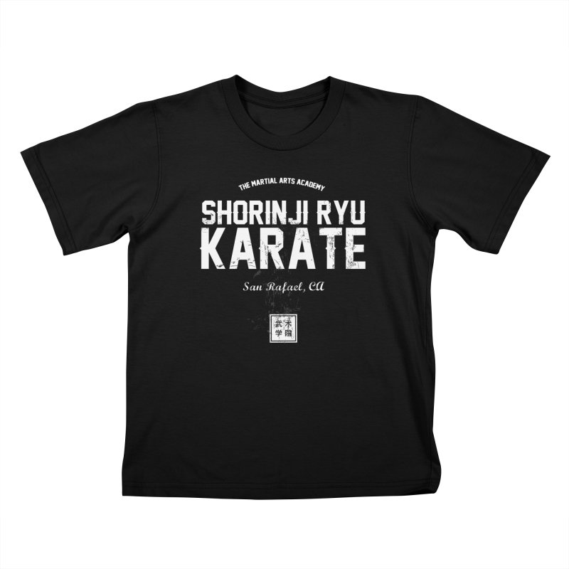 Karate (Black) Kids T-Shirt by The Martial Arts Academy's Store