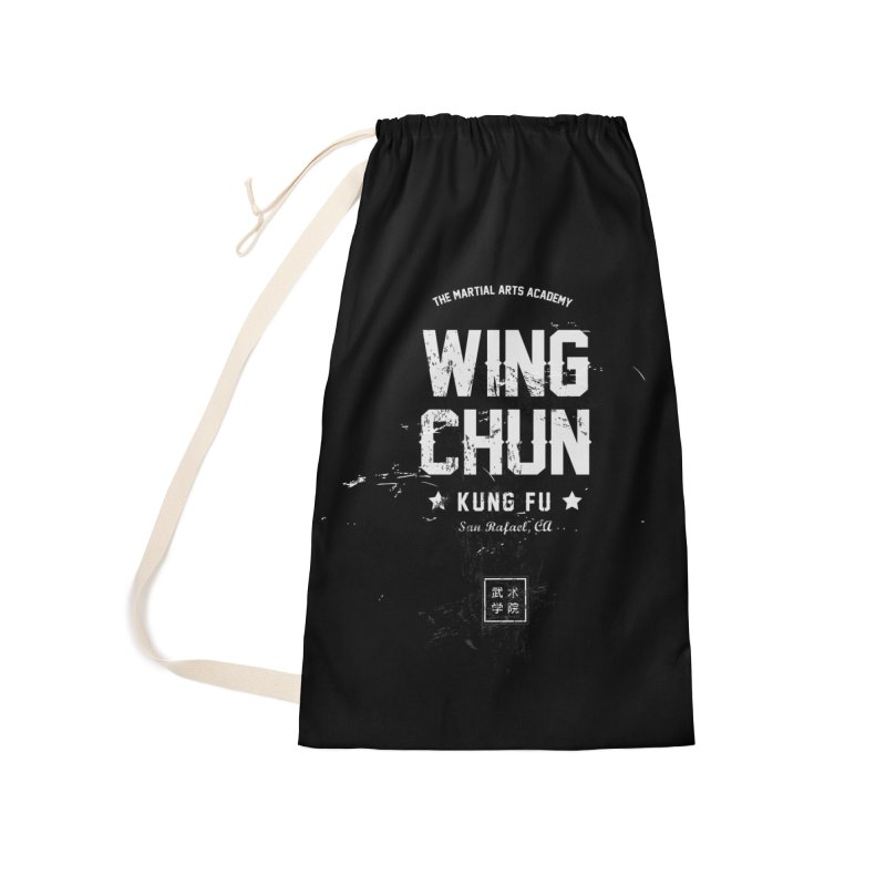 Wing Chun (Black) Accessories Laundry Bag Bag by The Martial Arts Academy's Store