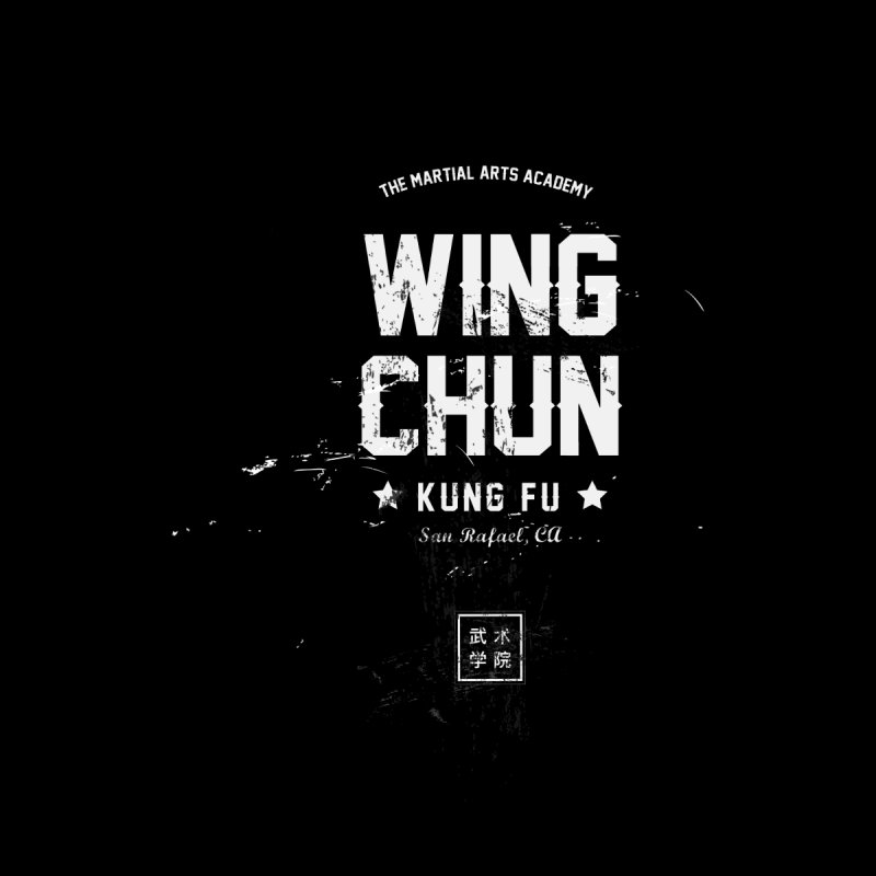 Wing Chun (Black) Men's T-Shirt by The Martial Arts Academy's Store