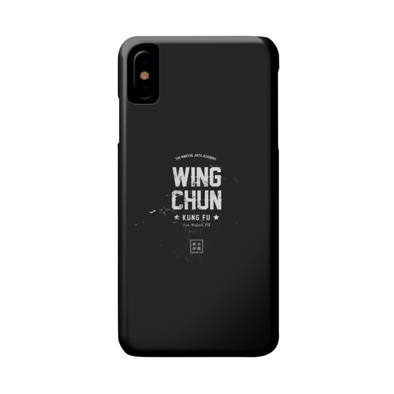 Wing Chun (Black) Accessories Phone Case by The Martial Arts Academy's Store
