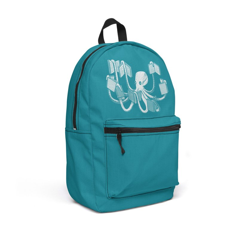 Armed with knowledge Accessories Backpack Bag by Martina Scott's Shop