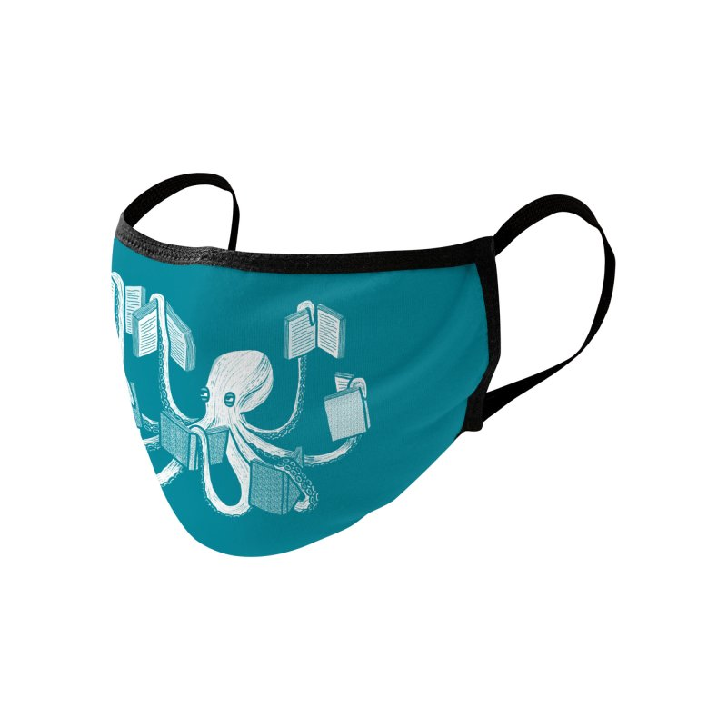 Armed with knowledge Accessories Face Mask by Martina Scott's Shop