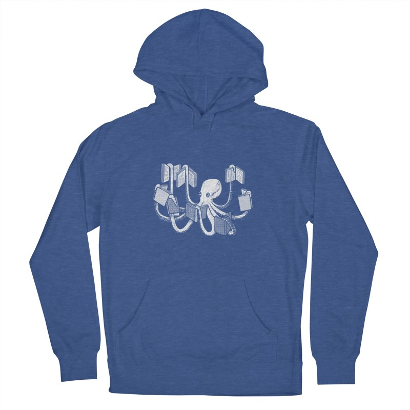 Armed with knowledge Women's French Terry Pullover Hoody by Martina Scott's Shop