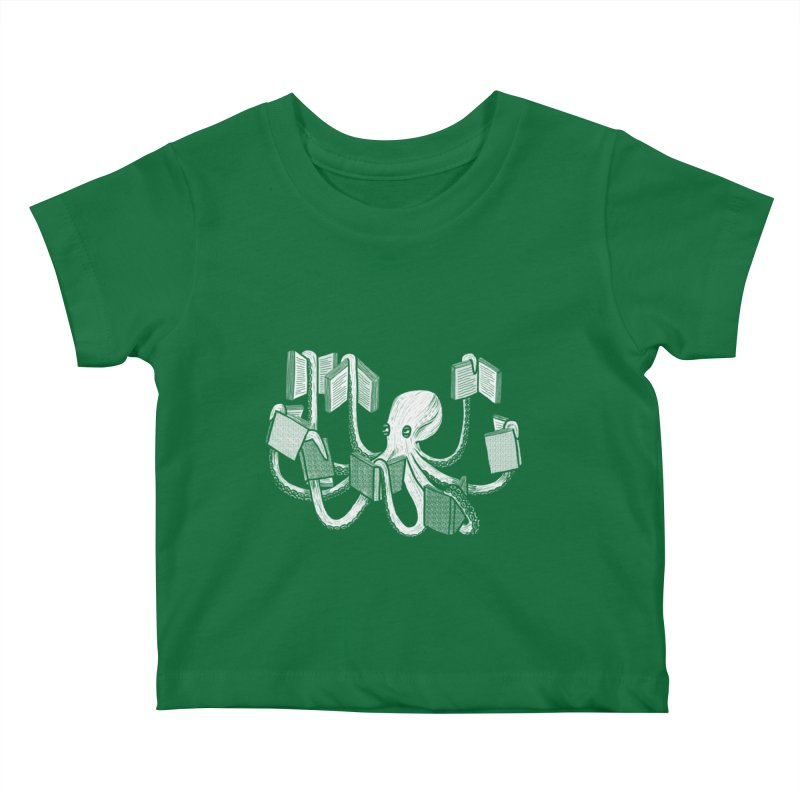 Armed with knowledge Kids Baby T-Shirt by Martina Scott's Shop