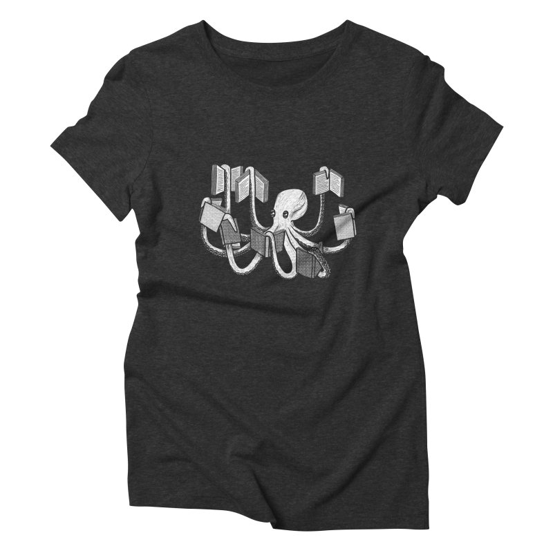 Armed with knowledge Women's Triblend T-Shirt by Martina Scott's Shop