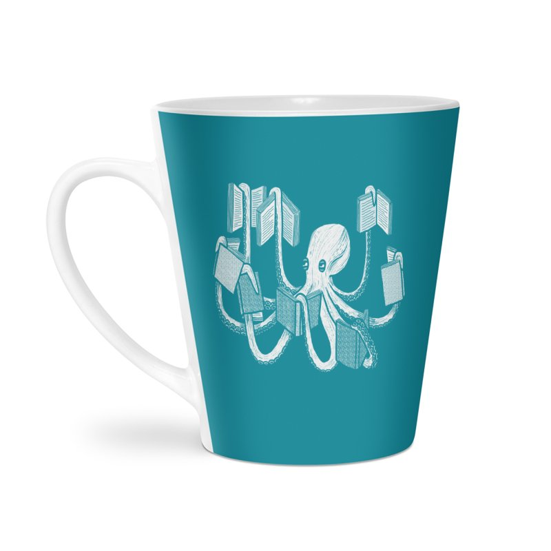 Armed with knowledge Accessories Latte Mug by Martina Scott's Shop