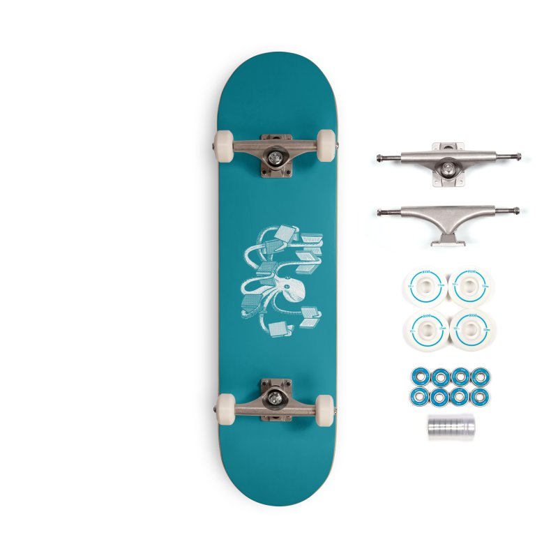 Armed with knowledge Accessories Complete - Basic Skateboard by Martina Scott's Shop