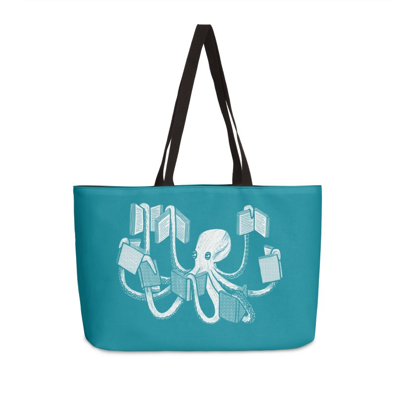 Armed with knowledge Accessories Weekender Bag Bag by Martina Scott's Shop