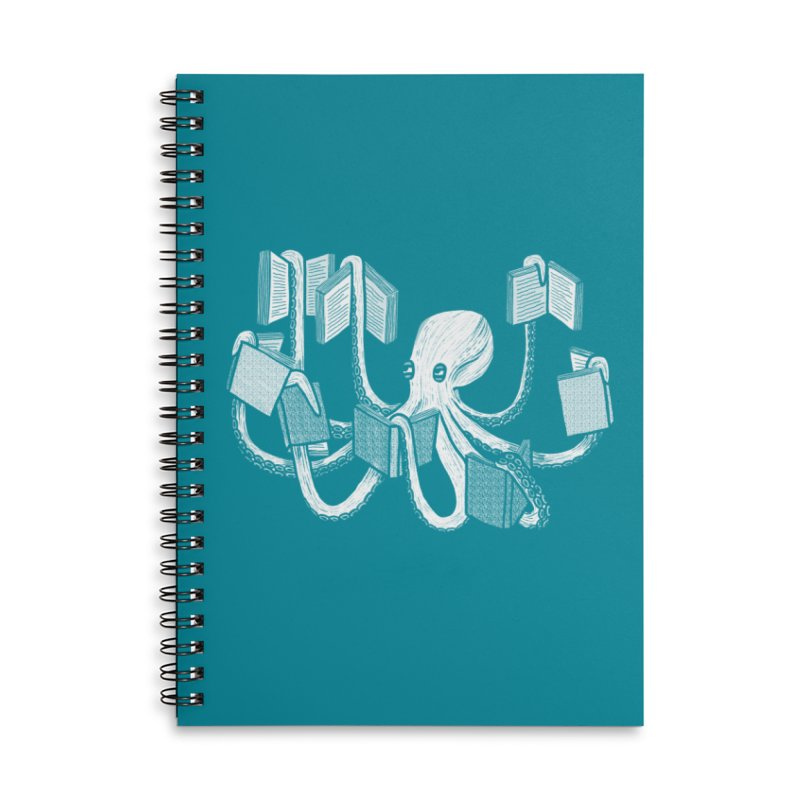 Armed with knowledge Accessories Notebook by Martina Scott's Shop