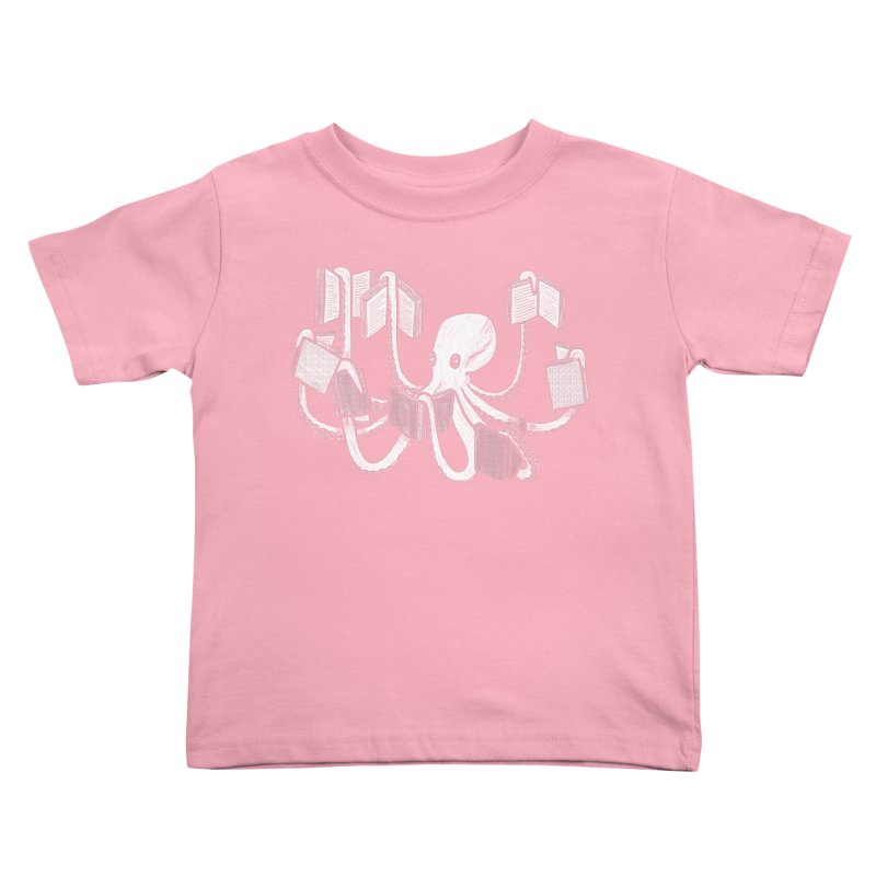 Armed with knowledge Kids Toddler T-Shirt by Martina Scott's Shop