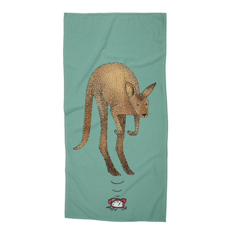 Smash the alarm Accessories Beach Towel by Martina Scott's Shop