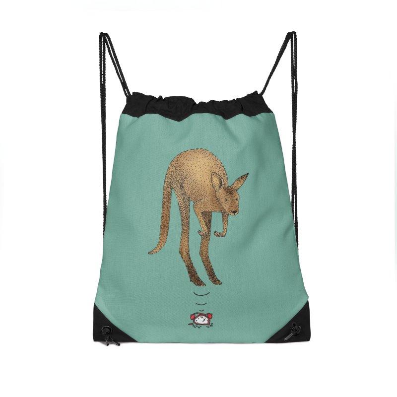 Smash the alarm Accessories Drawstring Bag Bag by Martina Scott's Shop
