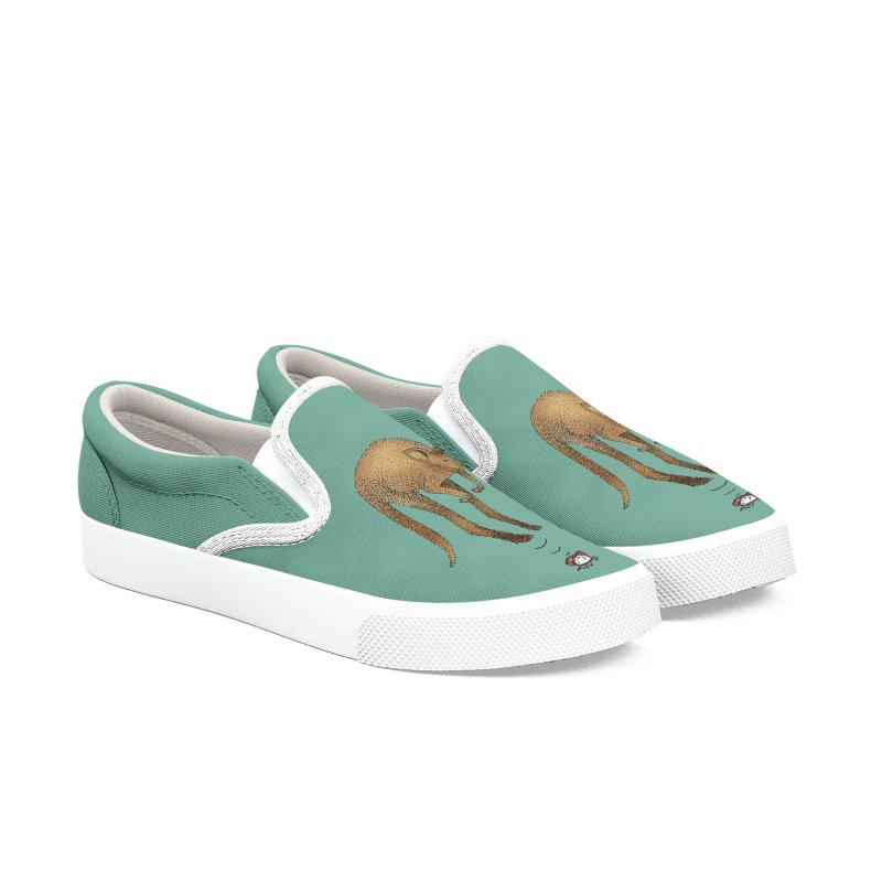 Smash the alarm Women's Slip-On Shoes by Martina Scott's Shop