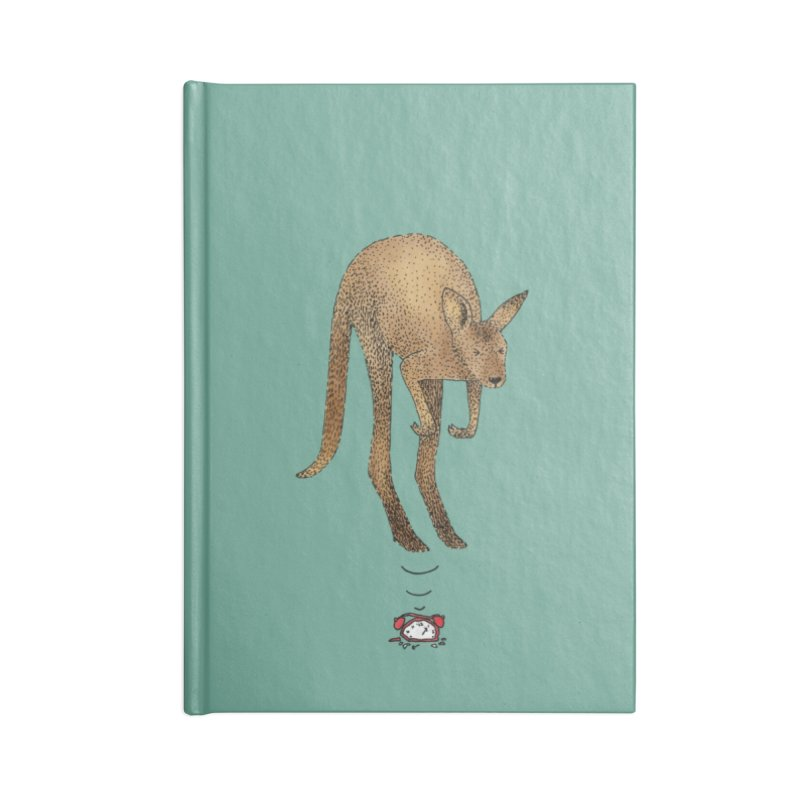 Smash the alarm Accessories Blank Journal Notebook by Martina Scott's Shop