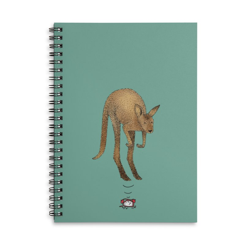 Smash the alarm Accessories Lined Spiral Notebook by Martina Scott's Shop