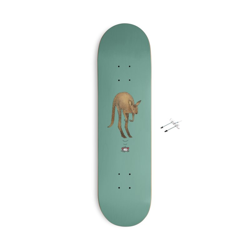 Smash the alarm Accessories With Hanging Hardware Skateboard by Martina Scott's Shop