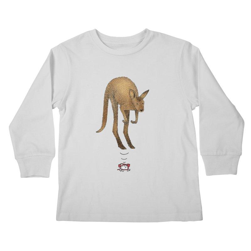 Smash the alarm Kids Longsleeve T-Shirt by Martina Scott's Shop