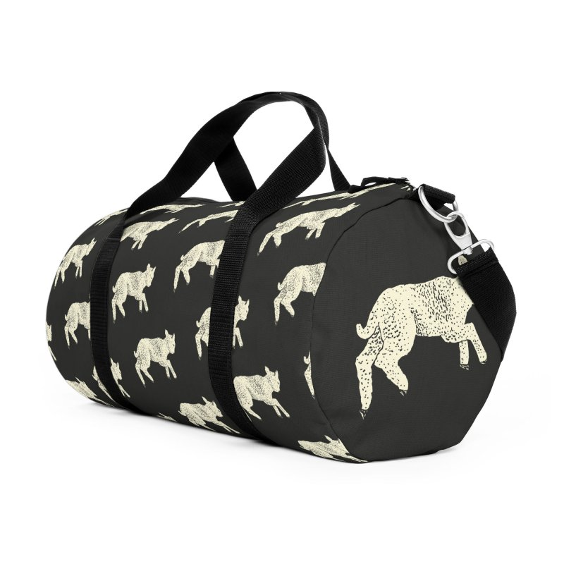 Little Leaping Lamb Accessories Duffel Bag Bag by Martina Scott's Shop