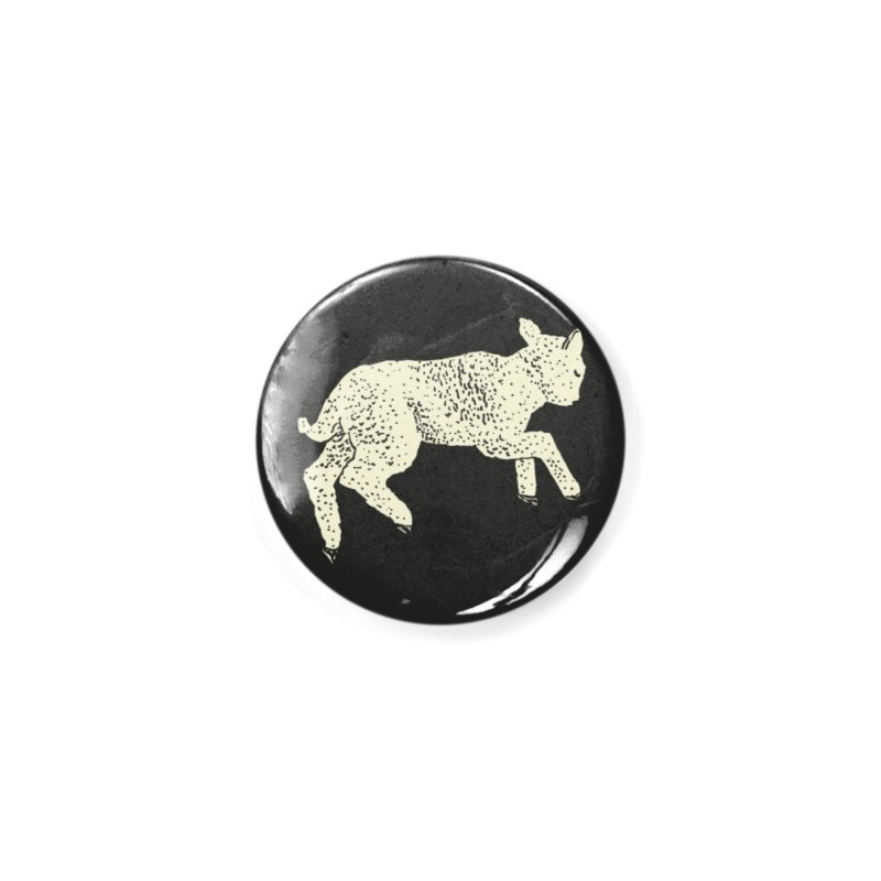 Little Leaping Lamb Accessories Button by Martina Scott's Shop