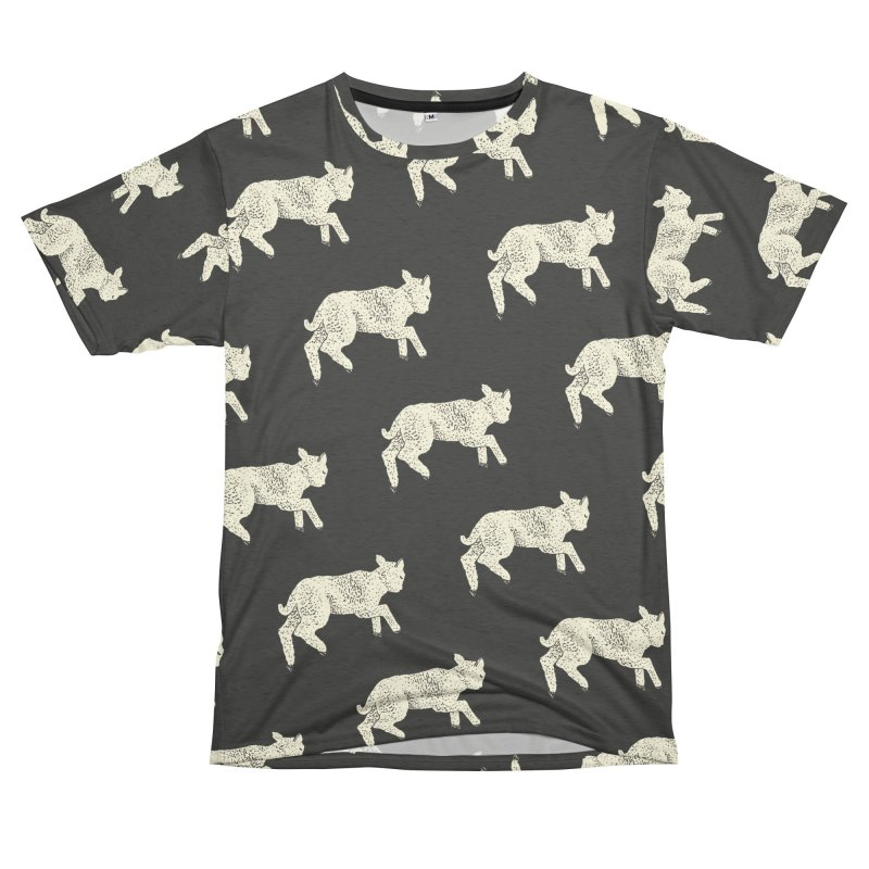 Little Leaping Lamb Men's French Terry T-Shirt Cut & Sew by Martina Scott's Shop