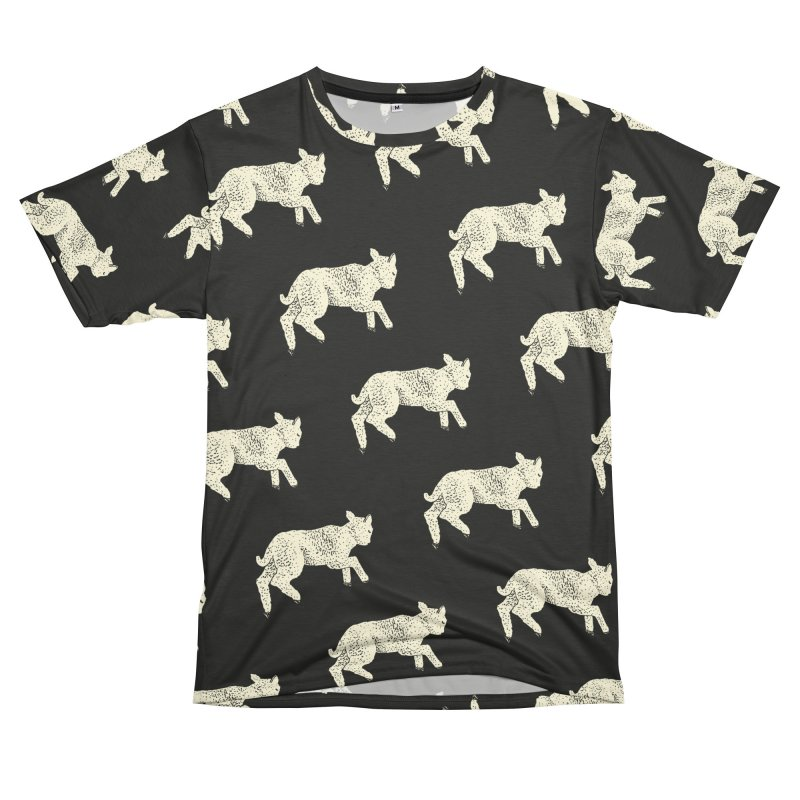 Little Leaping Lamb Men's T-Shirt Cut & Sew by Martina Scott's Shop