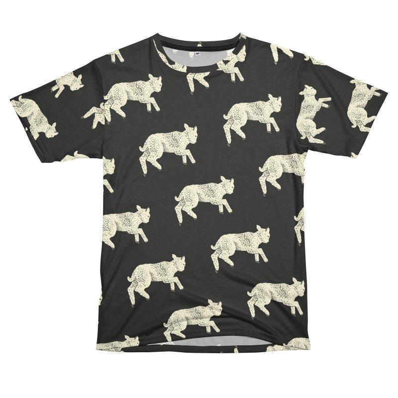 Little Leaping Lamb Women's Unisex T-Shirt Cut & Sew by Martina Scott's Shop