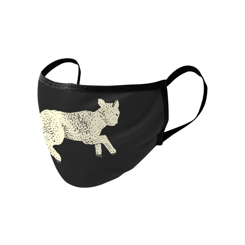 Little Leaping Lamb Accessories Face Mask by Martina Scott's Shop