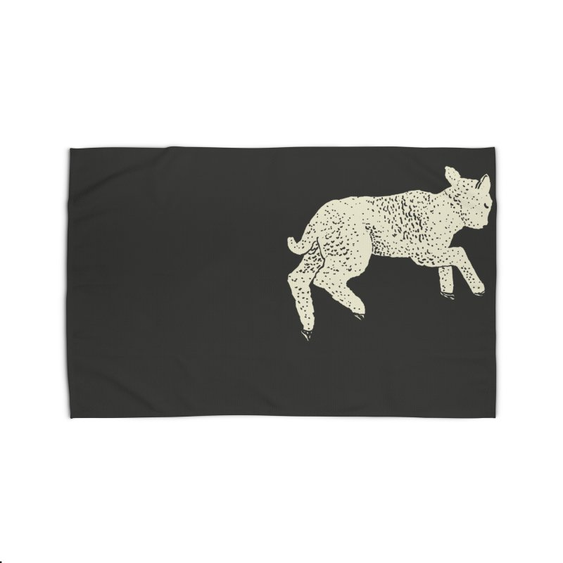 Little Leaping Lamb Home Rug by Martina Scott's Shop