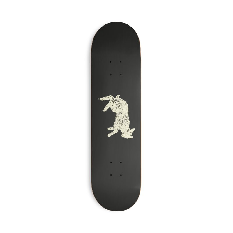 Little Leaping Lamb Accessories Deck Only Skateboard by Martina Scott's Shop