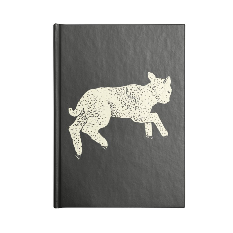 Little Leaping Lamb Accessories Blank Journal Notebook by Martina Scott's Shop