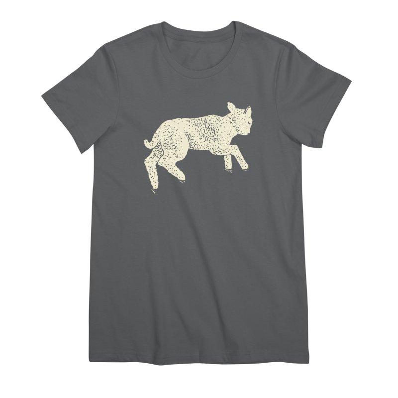 Little Leaping Lamb Women's Premium T-Shirt by Martina Scott's Shop
