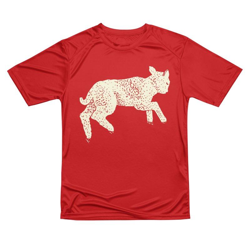 Little Leaping Lamb Women's Performance Unisex T-Shirt by Martina Scott's Shop
