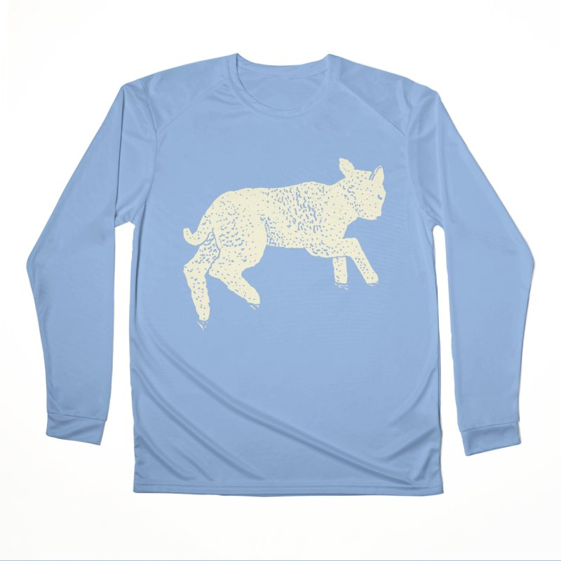 Little Leaping Lamb Men's Performance Longsleeve T-Shirt by Martina Scott's Shop