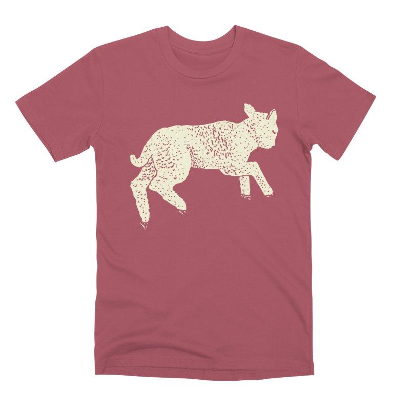 Little Leaping Lamb Men's Premium T-Shirt by Martina Scott's Shop