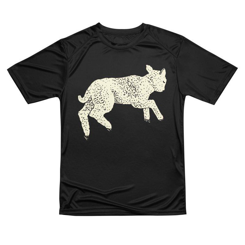 Little Leaping Lamb Men's Performance T-Shirt by Martina Scott's Shop