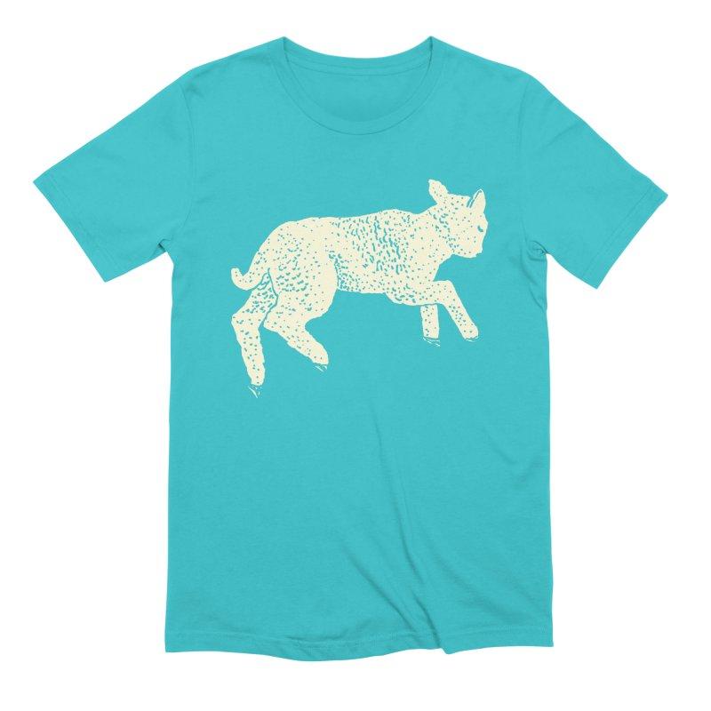 Little Leaping Lamb Men's Extra Soft T-Shirt by Martina Scott's Shop