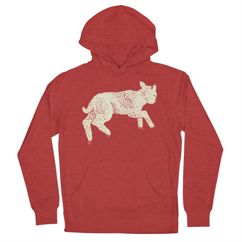 Little Leaping Lamb Men's French Terry Pullover Hoody by Martina Scott's Shop
