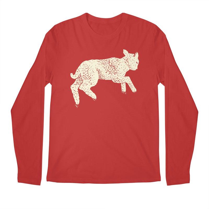 Little Leaping Lamb Men's Regular Longsleeve T-Shirt by Martina Scott's Shop