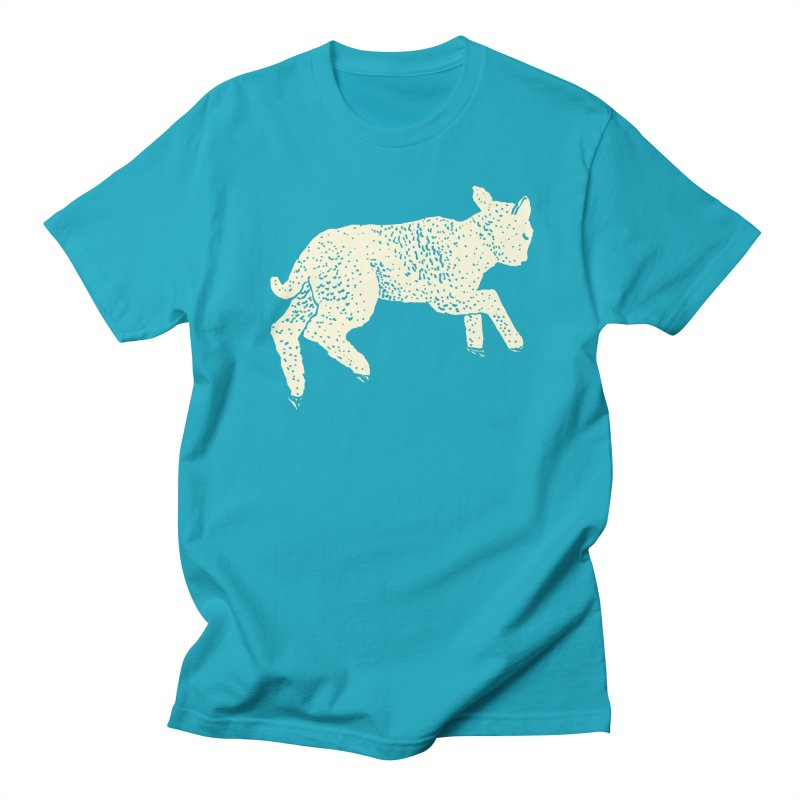 Little Leaping Lamb Men's Regular T-Shirt by Martina Scott's Shop