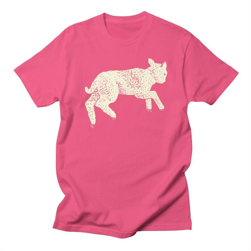 Little Leaping Lamb Men's Regular T-Shirt by Martina Scott's Shop