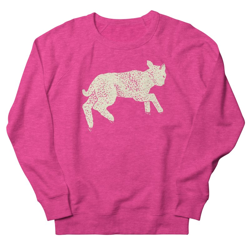 Little Leaping Lamb Women's French Terry Sweatshirt by Martina Scott's Shop