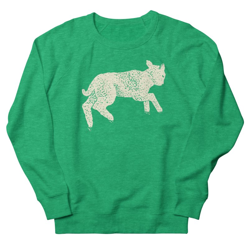 Little Leaping Lamb Men's French Terry Sweatshirt by Martina Scott's Shop
